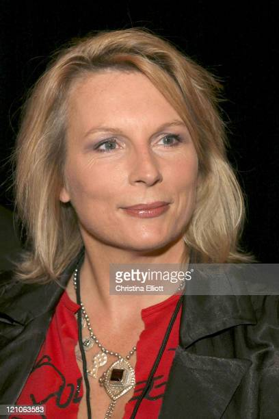 Jennifer Saunders during 'We Will Rock You' Show Las Vegas Premiere at Paris Hotel in Las Vegas Nevada United States