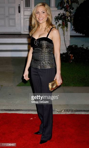 Jennifer Schefft during 2005 ABC Winter Press Tour Party Arrivals at Universal Studios in Universal City California United States