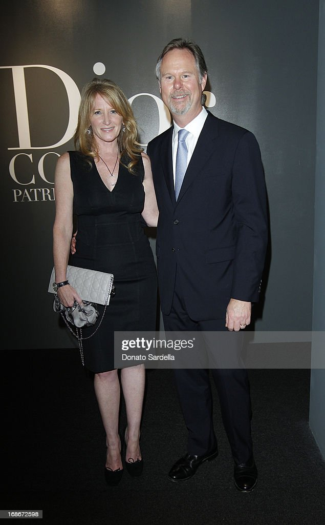 Jennifer Segerstrom and Anton Segerstrom attend Dior celebrates the opening of Dior Couture Patrick Demarchelier Exhibition at the Dior store at South Coast Plaza May 10, 2013 in Costa Mesa, California.