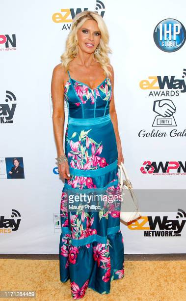 Jennifer Shultz attends the eZWay Awards Golden Gala at Center Club Orange County on August 30 2019 in Costa Mesa California