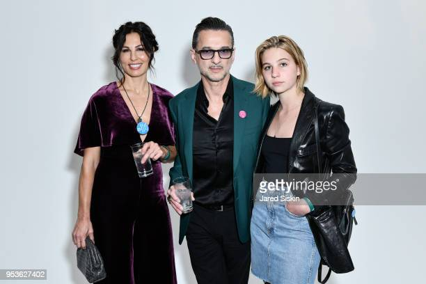 Jennifer SkliasGahan Dave Gahan and Stella Rose Gahan attend Planned Parenthood Of New York City Spring Gala Honoring Cecile Richards And Laverne Cox...