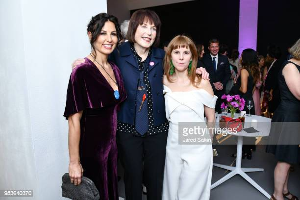 Jennifer SkliasGahan Marilyn Minter and Abigail DeAtley attend Planned Parenthood Of New York City Spring Gala Honoring Cecile Richards And Laverne...