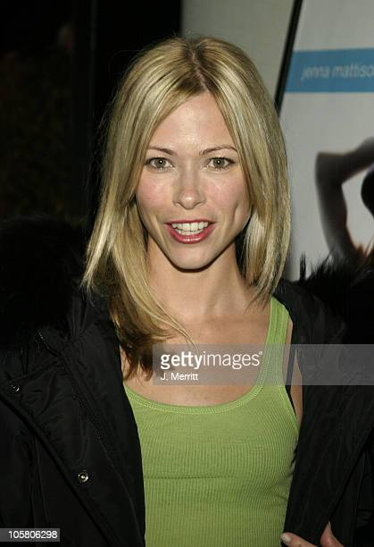 Jennifer Sky during Fish Without A Bicycle Screening Arrivals at Harmony Gold Theater in Hollywood California United States