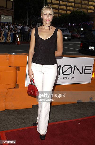 Jennifer Sky during Simone Los Angeles Premiere at National Theatre in Westwood California United States