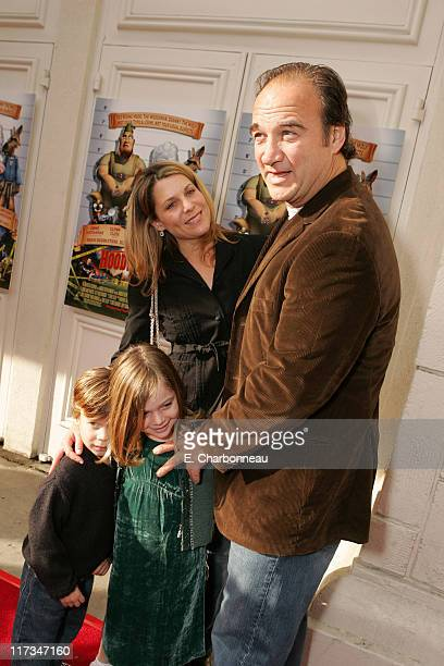Jennifer Sloan Jim Belushi with Jared Belushi and Jamison Belushi