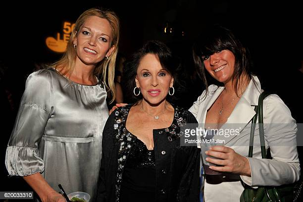 Jennifer Staggs Nikki Haskell and Christina Bohigian attend INTERVIEW MAGAZINE Party to Celebrate the ART ISSUE at Miami Art Museum on December 4...
