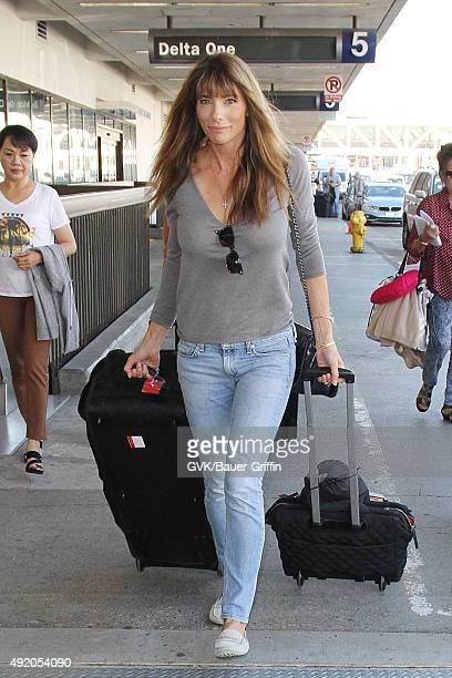 Jennifer Stallone is seen at LAX on October 09 2015 in Los Angeles California