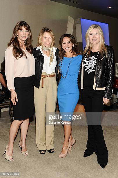 Jennifer Stallone Kimberly Marteau Emerson Angella Nazarian and Irena Medavoy attend Women ARE Salon Event Featuring Home Shopping Network's CEO...