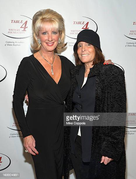 Jennifer Steinbrenner Swindal and guest attend the Table 4 Writers Foundation 1st Annual Awards Gala on March 7 2013 in New York City