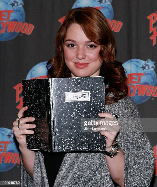 Jennifer Stone visits Planet Hollywood Times Square on October 7 2010 in New York City