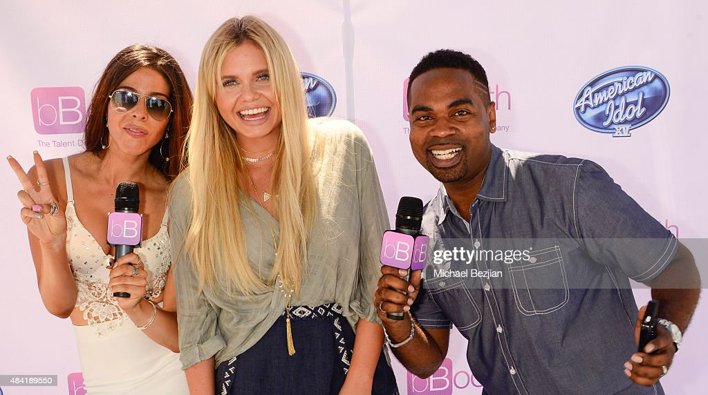 Jennifer Tapiero, Alli Simpson, and Lazarus American Idol Auditions At bBooth on August 15, 2015 in Culver City, California.