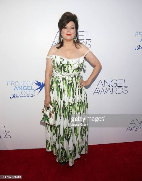 Jennifer Tilly attends Project Angel Food's Angel Awards Gala at Project Angel Food on September 14, 2019 in Los Angeles, California.