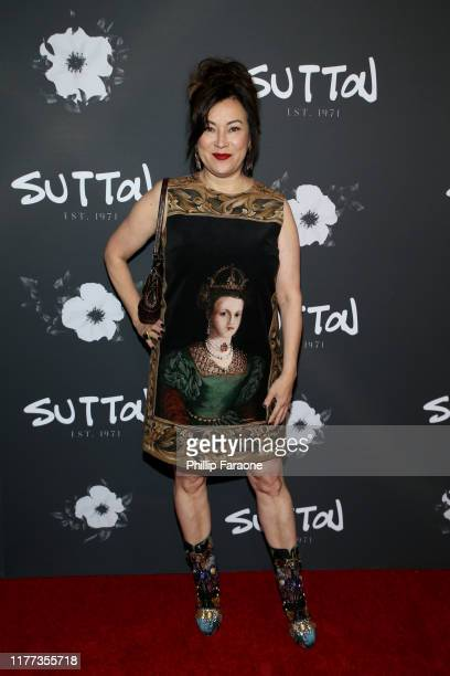 Jennifer Tilly attends Real Housewife Sutton Stracke Hosts SUTTON Store Launch at SUTTON on September 26 2019 in West Hollywood California