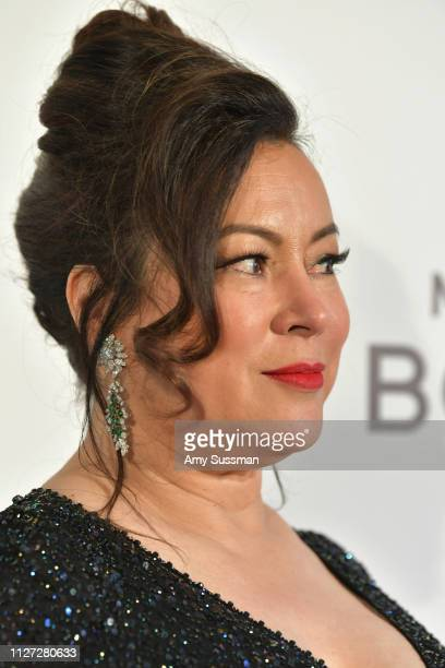 Jennifer Tilly attends the 27th annual Elton John AIDS Foundation Academy Awards Viewing Party celebrating EJAF and the 91st Academy Awards on...