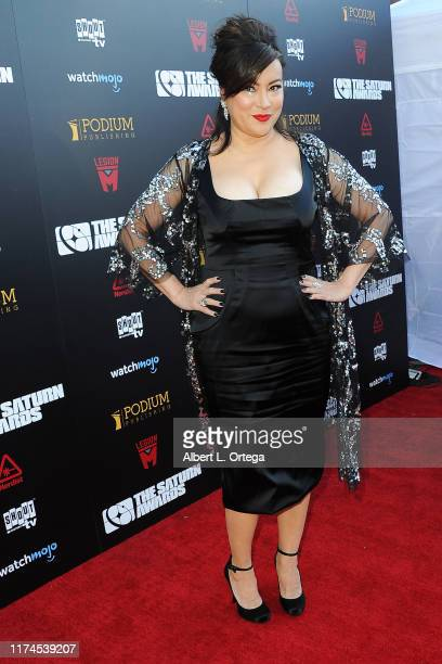 Jennifer Tilly attends the 45th Annual Saturn Awards at Avalon Theater on September 13, 2019 in Los Angeles, California.