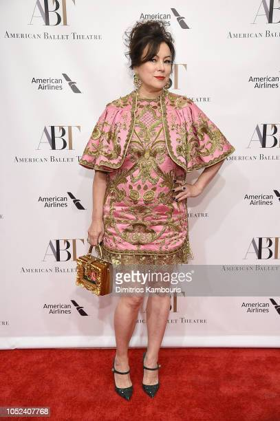 Jennifer Tilly attends The American Ballet Theatre 2018 Fall Gala at David H Koch Theater Lincoln Center on October 17 2018 in New York City