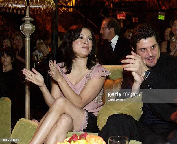 Jennifer Tilly during 2003 Dream Makers Circle Reception at Private Residence in Beverly Hills, California, United States.