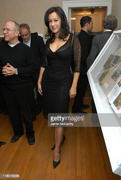 Jennifer Tilly during 2004 12th Annual Hamptons International Film Festival Golden Starfish Awards Greenroom at Guild Hall in Easthampton United...