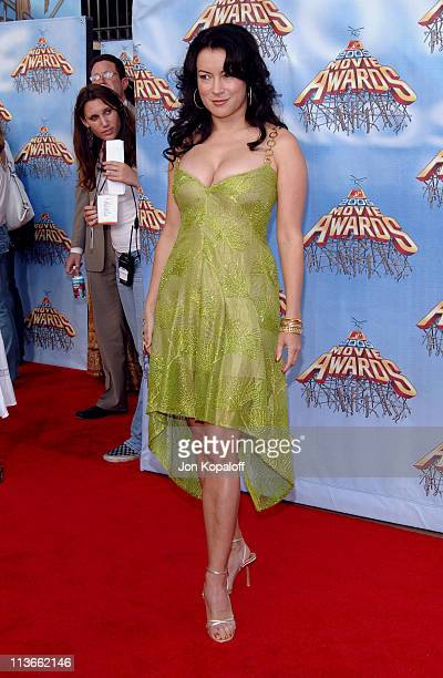 Jennifer Tilly during 2005 MTV Movie Awards Arrivals at Shrine Auditorium in Los Angeles California United States