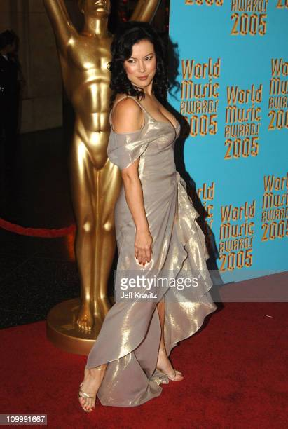 Jennifer Tilly during 2005 World Music Awards Arrivals at Kodak Theater in Hollywood California United States