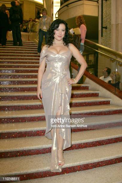Jennifer Tilly during 2005 World Music Awards Red Carpet at Kodak Theatre in Los Angeles CA United States
