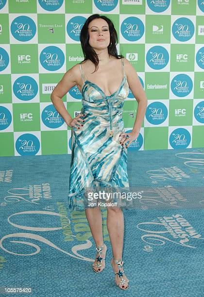 Jennifer Tilly during 20th IFP Independent Spirit Awards Arrivals at Santa Monica Beach in Santa Monica California United States