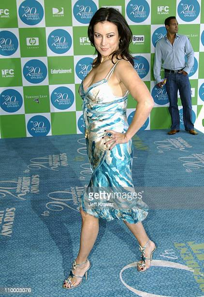 Jennifer Tilly during 20th IFP Independent Spirit Awards Arrivals at Santa Monica Beach in Santa Monica California United States