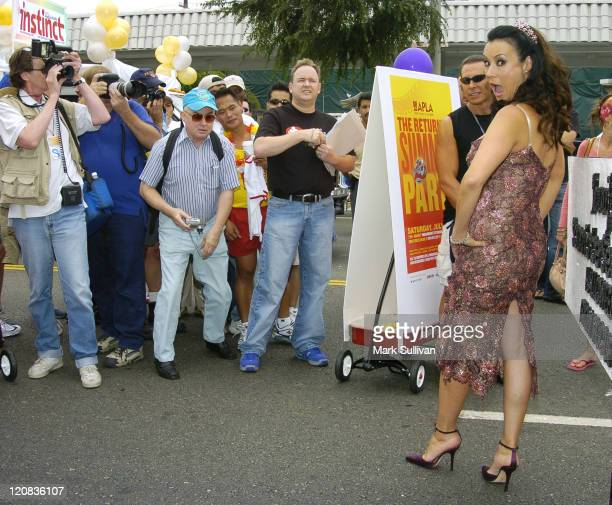 Jennifer Tilly during 34th Annual Los Angeles LGBT Pride Parade at Santa Monica Blvd and Crescent Heights in West Hollywood California United States