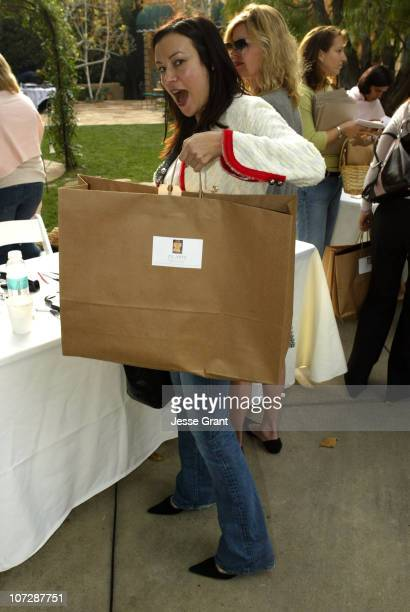 Jennifer Tilly during Brown Bag Holiday Bash to Benefit P.S. Arts at Home of Heidi Haddad in Los Angeles, California, United States.