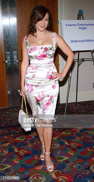 Jennifer Tilly during Casino Night Fundraiser For Caucus Foundation at Renaissance Hotel in Hollywood California United States