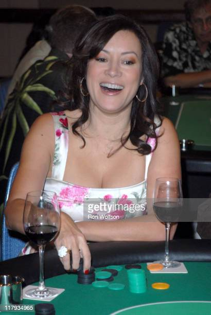Jennifer Tilly during Casino Night Fundraiser For Caucus Foundation August 19 2006 at Renassaince Hotel in Hollywood CA United States