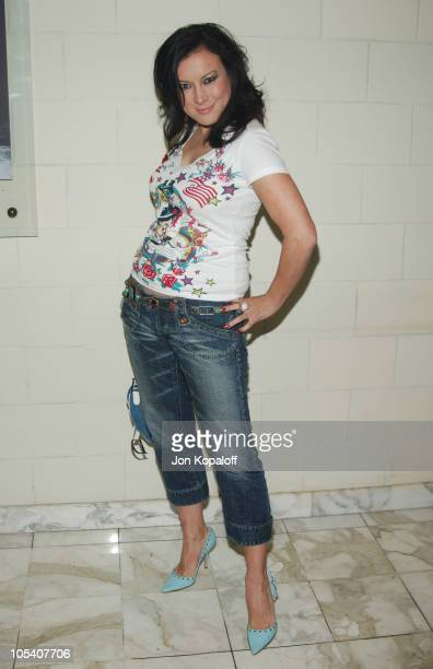 Jennifer Tilly during Christian Dior Launches New Collection D'TRICK at Argyle Hotel in West Hollywood California United States