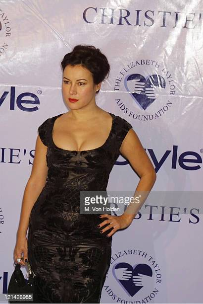 Jennifer Tilly during Christie's Private Auction to Benefit Elizabeth Taylor AIDS Foundation at Christie's in New York New York United States