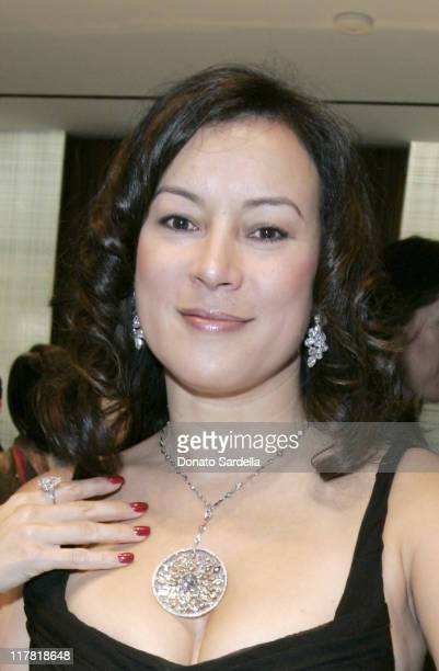Jennifer Tilly during De Beers and Distinction Host Givers and Shakers of Philanthropy at De Beers in Beverly Hills California United States
