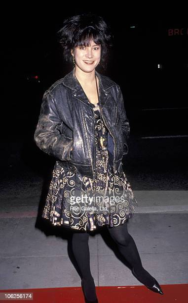 Jennifer Tilly during Delicatessen Beverly Hills Premiere at Fine Arts Theater in Beverly Hills California United States