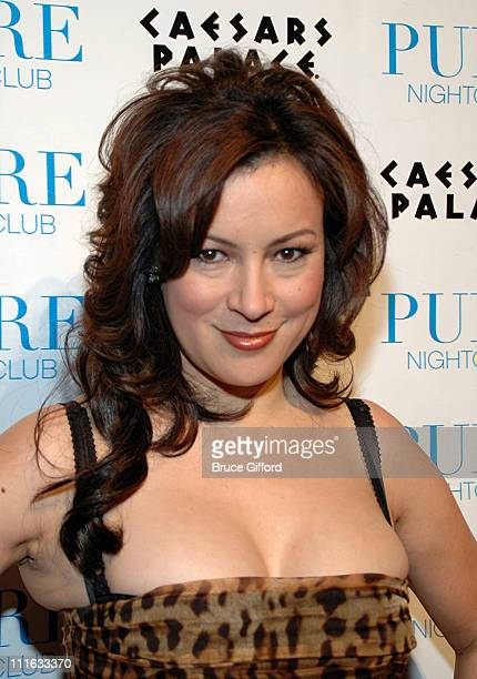 Jennifer Tilly during Draw Party 3rd Annual HeadsUp Poker Championship at Pure Nightclub in Las Vegas Nevada United States