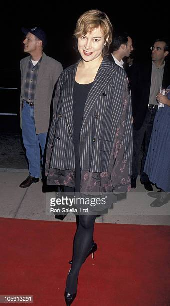 Jennifer Tilly during Dumb and Dumber Hollywood Premiere at Cinerama Dome Theater in Hollywood California United States