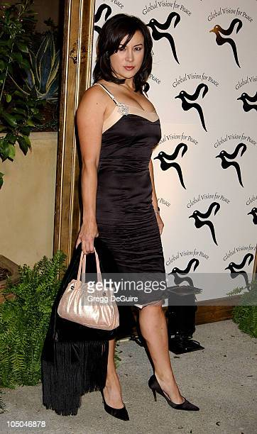 Jennifer Tilly during Global Vision For Peace Party at Talmadge Estate in Los Feliz, California, United States.