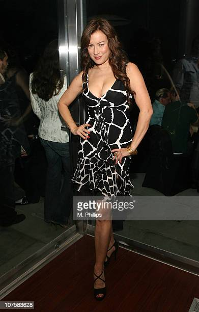 Jennifer Tilly during GQ / Calvin Klein Celebrity Poker Tournament Benefiting Peace Games - Calvin Klein Gift Lounge at Private Residence in Los...
