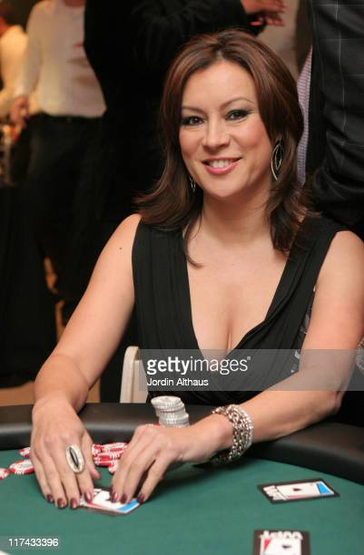 Jennifer Tilly during Haven Celebrity Poker Chic and W Party February 23 2007 at Private Residence in Beverly Hills California United States
