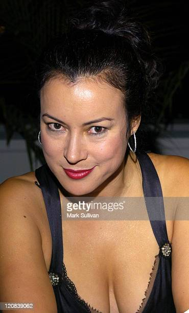 Jennifer Tilly during Infinity Hosts Rod Stewart Pre Concert Party at Hollywood Bowl in Hollywood California United States