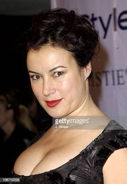 Jennifer Tilly during InStyle Magazine Gala to Celebrate the Release of Elizabeth Taylor My Love Affair with Jewelry at Christie's in New York City...