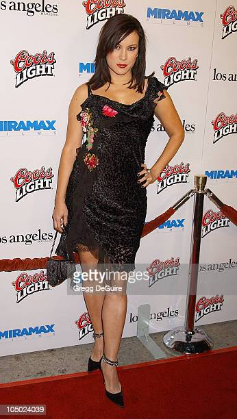 Jennifer Tilly during Los Angeles Premiere Of 'Confessions Of A Dangerous Mind' at Mann Bruin Theatre in Westwood California United States
