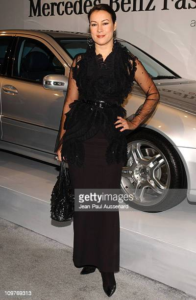 Jennifer Tilly during MercedesBenz Spring 2006 LA Fashion Week at Smashbox Studios Day 4 Arrivals at Smashbox Studios in Culver City California...