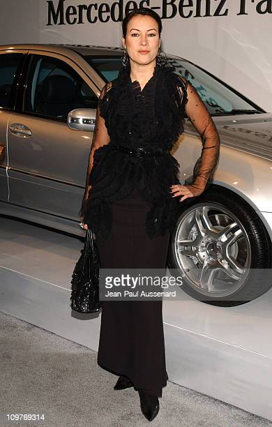 Jennifer Tilly during Mercedes-Benz Spring 2006 L.A. Fashion Week at Smashbox Studios - Day 4 - Arrivals at Smashbox Studios in Culver City,...
