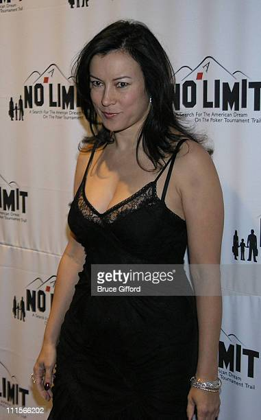 Jennifer Tilly during No Limit Vegas VIP Screening and AfterParty at The Palms Casino in Las Vegas Nevada United States