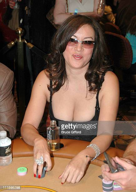 Jennifer Tilly during Opening Day of The Venetian Poker Room April 2 2006 at The Venetian Hotel in Las Vegas Nevada United States
