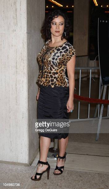 Jennifer Tilly during 'Panic Room' Premiere at Loews Century Plaza in Century City California United States