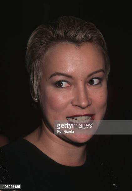 Jennifer Tilly during Party for Gueraine Fragrance 'ChampsElysees' August 30 1996 at The Washington Mews in New York City New York United States