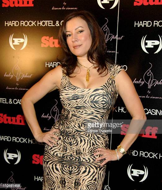 Jennifer Tilly during STUFF Magazine Music Issue Weekend Poker Tournement Hosted By Phat Farm Baby Phat and STUFF Magazine at The Hard Rock Hotel and...